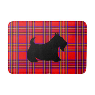 Scottish Terrier Scotty Dog Bath Mat Bathroom Rug