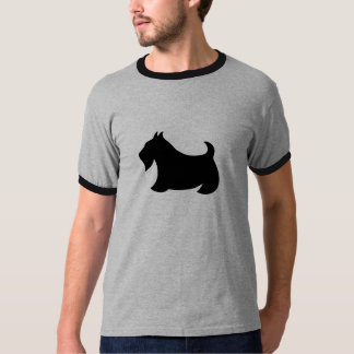 Scottish Terrier Scotty Dog T-Shirt Top Gift