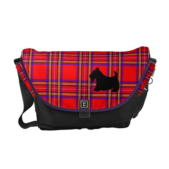 Scottish Terrier Scotty Messenger Purse Bag Gift Courier