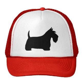 Scottish Terrier Silhouette Cap