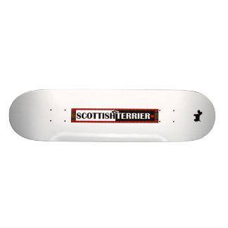 Scottish Terrier Skate Board Deck