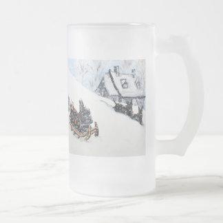 Scottish Terrier Sled Mugs