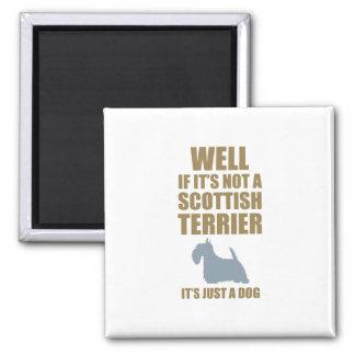 Scottish Terrier Square Magnet