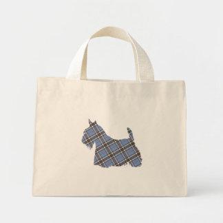 Scottish Terrier Thomson Tartan Tote Bag