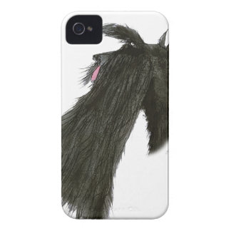 Scottish Terrier, tony fernandes Case-Mate iPhone 4 Cases