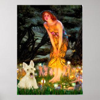 Scottish Terrier W5 - MidEve Print