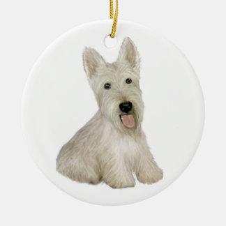 Scottish Terrier - wheaten Christmas Ornament