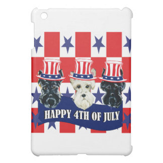 Scottish Terriers 4th of July iPad Mini Covers
