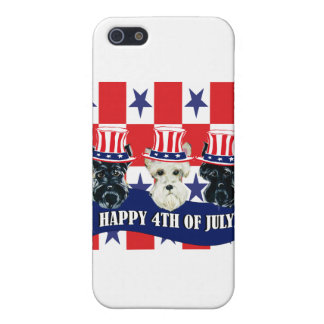 Scottish Terriers 4th of July iPhone 5 Case