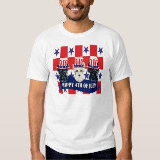 Scottish Terriers 4th of July T Shirt
