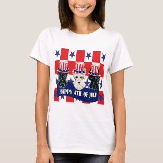 Scottish Terriers 4th of July T-Shirt