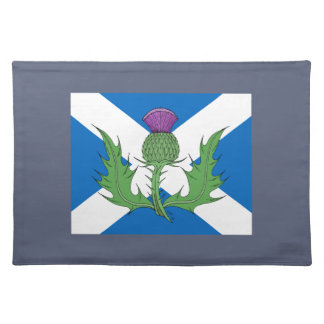Scottish Thistle and Saltire Placemat