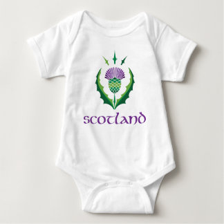 Scottish Thistle Baby Bodysuit