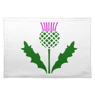 Scottish Thistle Placemats