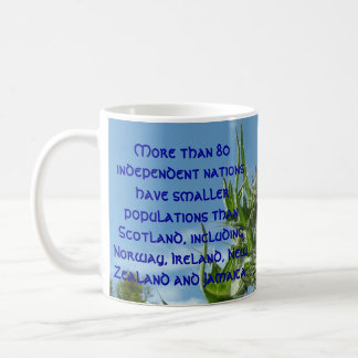 Scottish Thistle Populations Coffee Mug