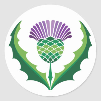 Scottish Thistle Sticker
