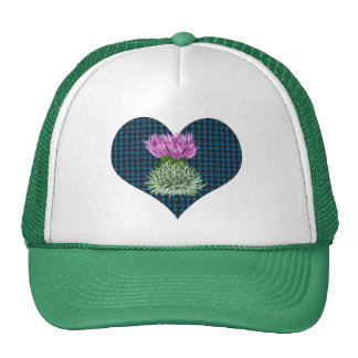 Scottish Thistles and Hearts Cap