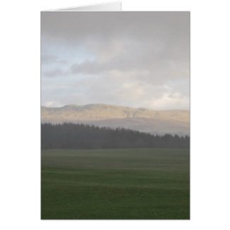 Scottish Views Card