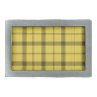 Scottish Yellow Tartan Belt Buckles