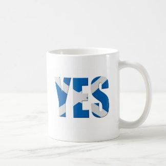 Scottish Yes Coffee Mug