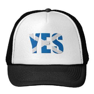 Scottish Yes Mesh Hats