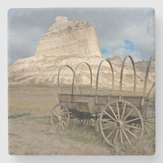 Scott's Bluff in present day Nebraska Stone Coaster