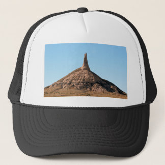 Scottsbluff Nebraska Chimney Rock Spire Trucker Hat