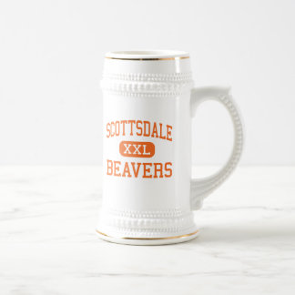 Scottsdale - Beavers - High - Scottsdale Arizona Beer Steins