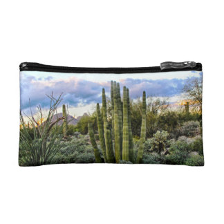 Scottsdale Succulent Sunset Makeup Bag
