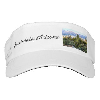Scottsdale Succulent Sunset Visor