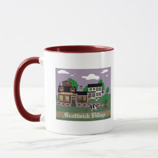 Scottwick Village, New England Station Mug