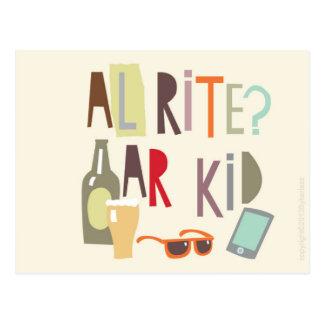 Scouse Card – Alrite Ar Kid