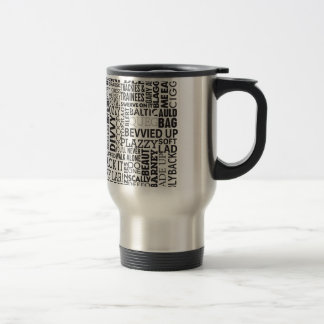 Scouse Words & Phrases Stainless Steel Travel Mug