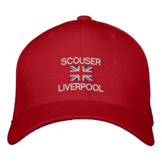 Scouser Liverpool British flag Liverpudian Embroidered Baseball Cap