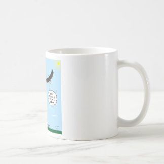 Scout and Eagle Thoughts Basic White Mug