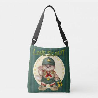 SCOUT CAT All-Over-Print Cross Body  MEDIUM Crossbody Bag
