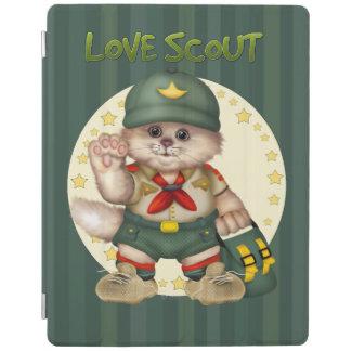SCOUT CAT CUTE iPad 2/3/4 Smart Cover iPad Cover