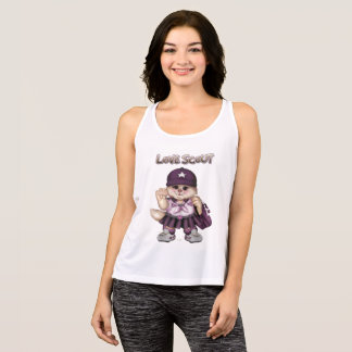 SCOUT CAT GIRL All Sport Performance Tank Top