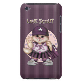 SCOUT CAT GIRL iPod Touch Barely There iPod Case-Mate Cases