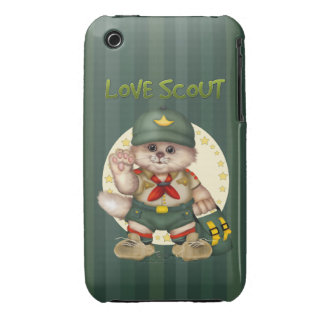 SCOUT CAT iPhone 3G/3Gs iPhone 3 Covers