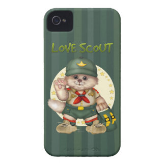 SCOUT CAT iPhone iPhone 4 Case-Mate iPhone 4 Cases
