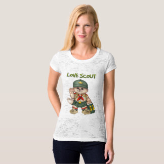 SCOUT CAT Women's Canvas Fitted T-Shirt