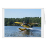 Scout Floatplane on Panther Pond, Maine