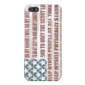 Scout Oath Cell Phone Case Cover For iPhone 5