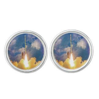 Scout Rocket Launch Cufflinks