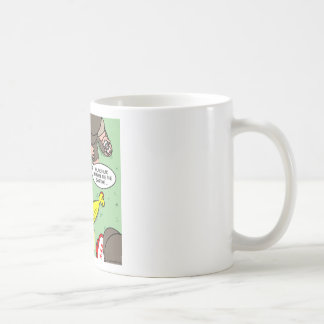 Scout Rubber Chicken Rescue Basic White Mug