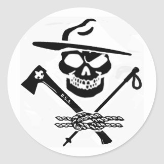Scouting Privateers Sticker