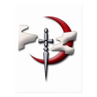 Scouts Guild Symbol Postcard