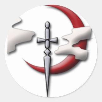 Scouts Guild Symbol Round Sticker