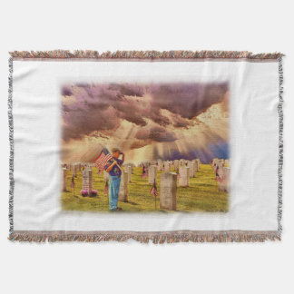 """Scout's Honor"" Throw Blanket"